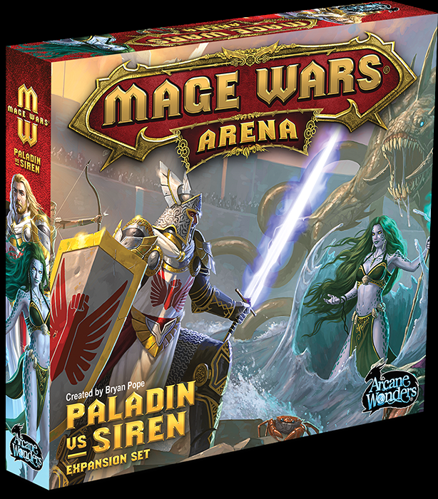Mage wars Paladin vs Siren